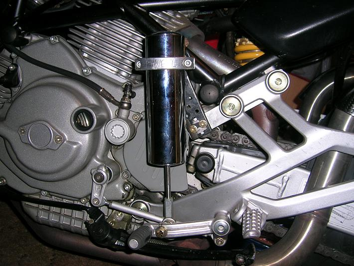 how to change the handgard on a 2010 multistrada