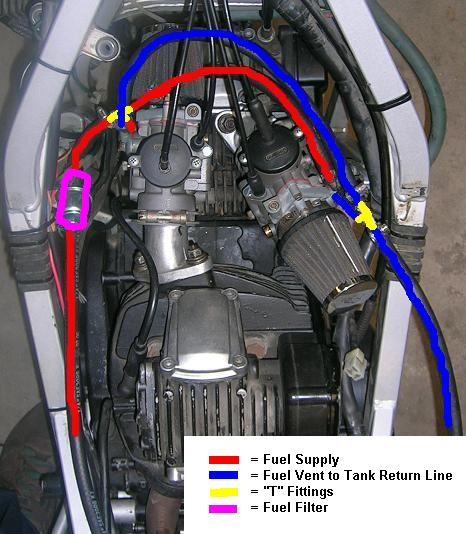 new_fuel_route fuel pump for 750 paso with del'ortos speedzilla motorcycle 1998 ducati st2 wiring diagram at webbmarketing.co