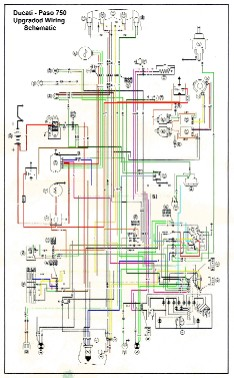 The Paso Project Ducati Relay Wiring Diagram on